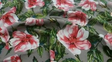 Καπαρντίνα floral με ελαστικότητα