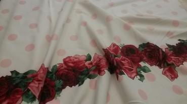 Ζέρσευ με μπορντούρα σχέδιο λουλούδι