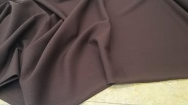 Μάλλινο λεπτό κρέπ σε καφέ κανελί χρώμα